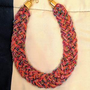 Multi Color Statement Necklace